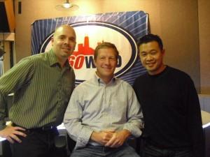 Bob Regnerus, Marc Malnati, and Mark Imperial